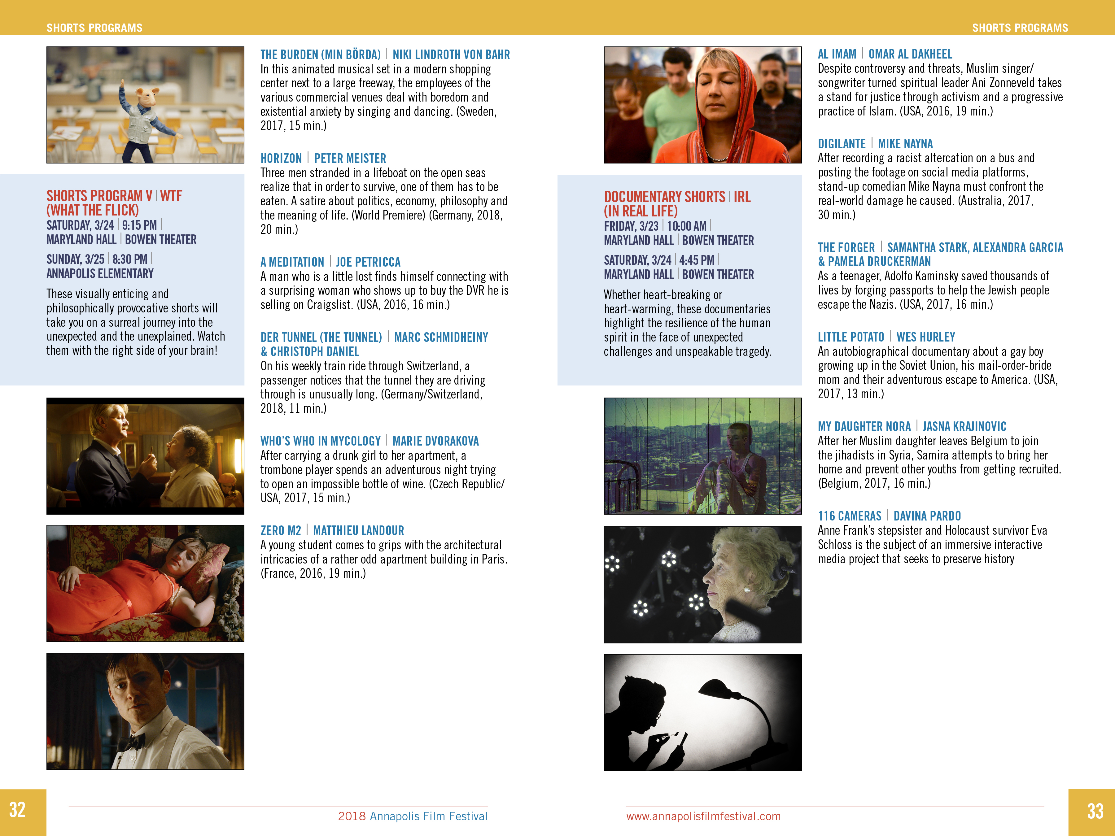 AFF Print Program 18