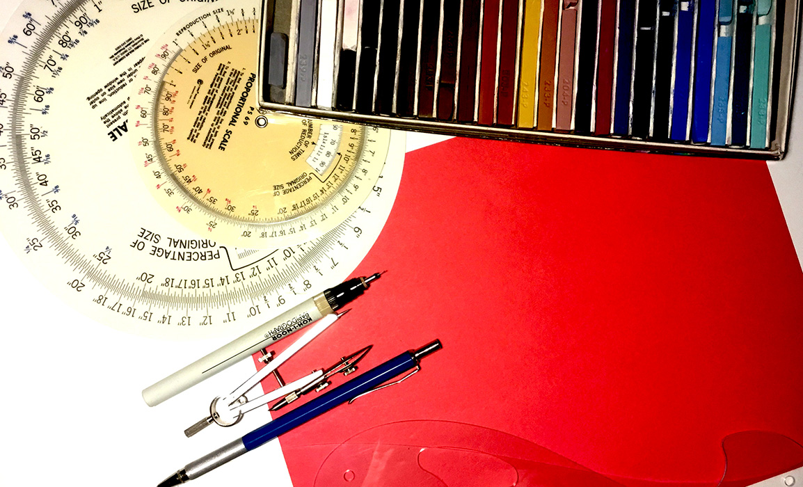 Design Tools With Red Paper