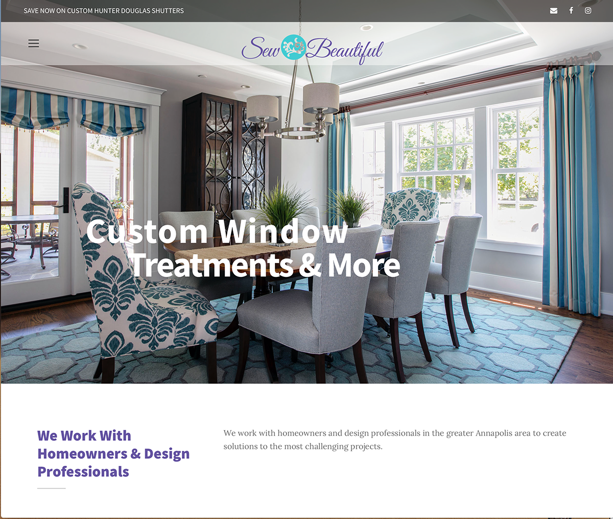 Sew Beautiful Website Home