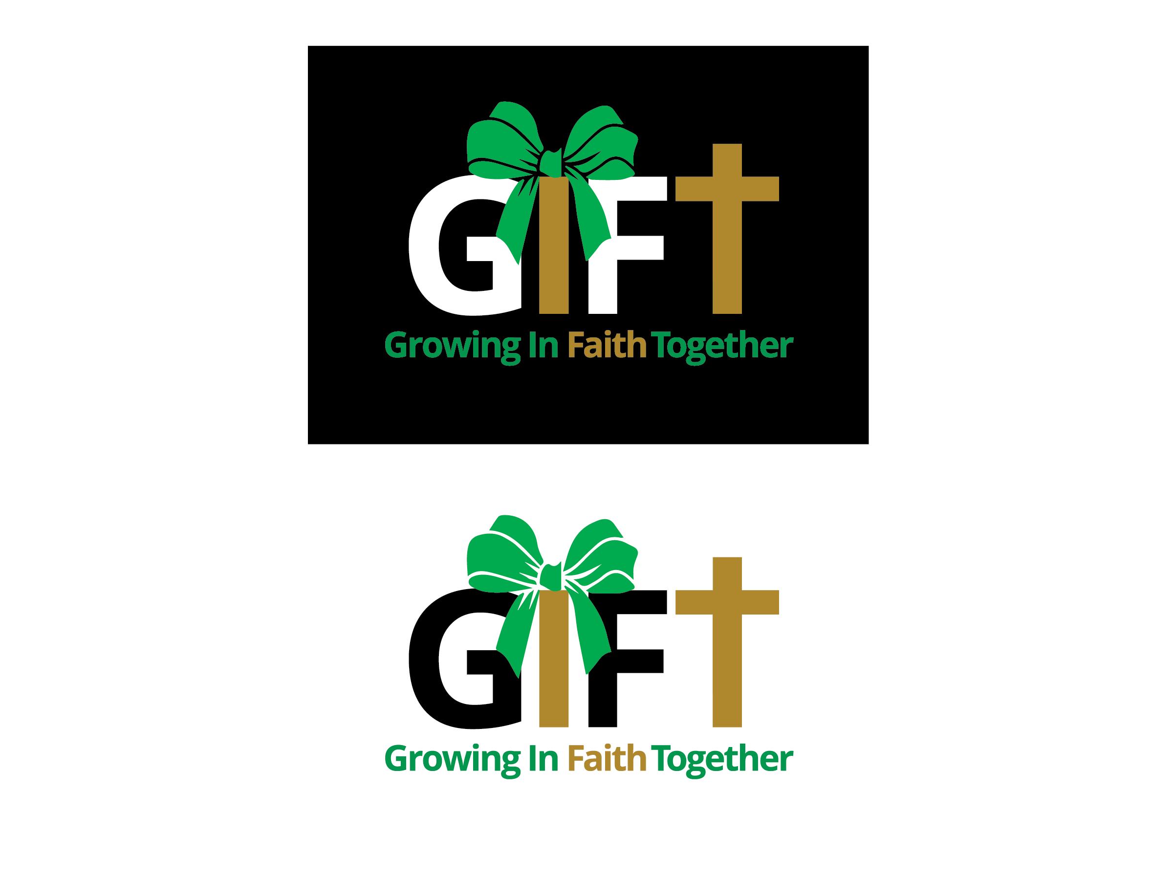 Gloria Dei Gift Campaign Logo Treatment