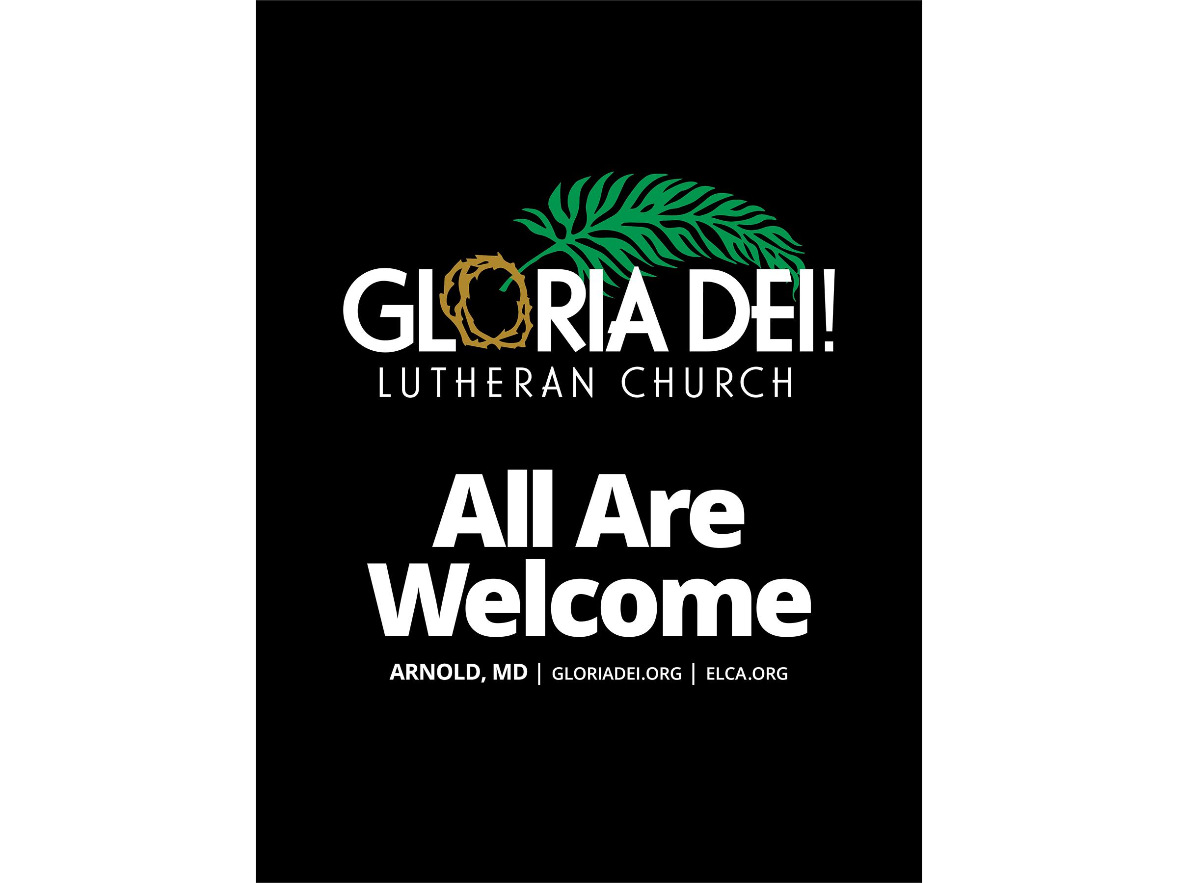 Gloria Dei T-Shirt Black