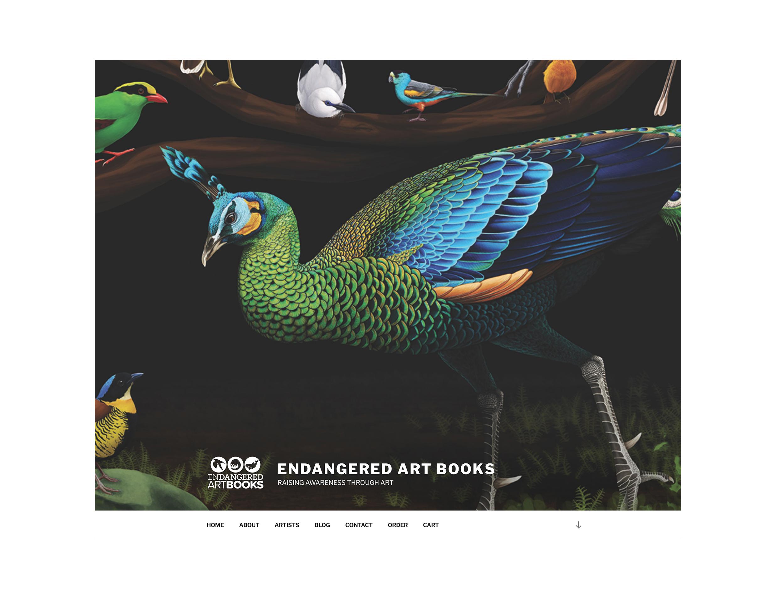 Endangered Art Books Website