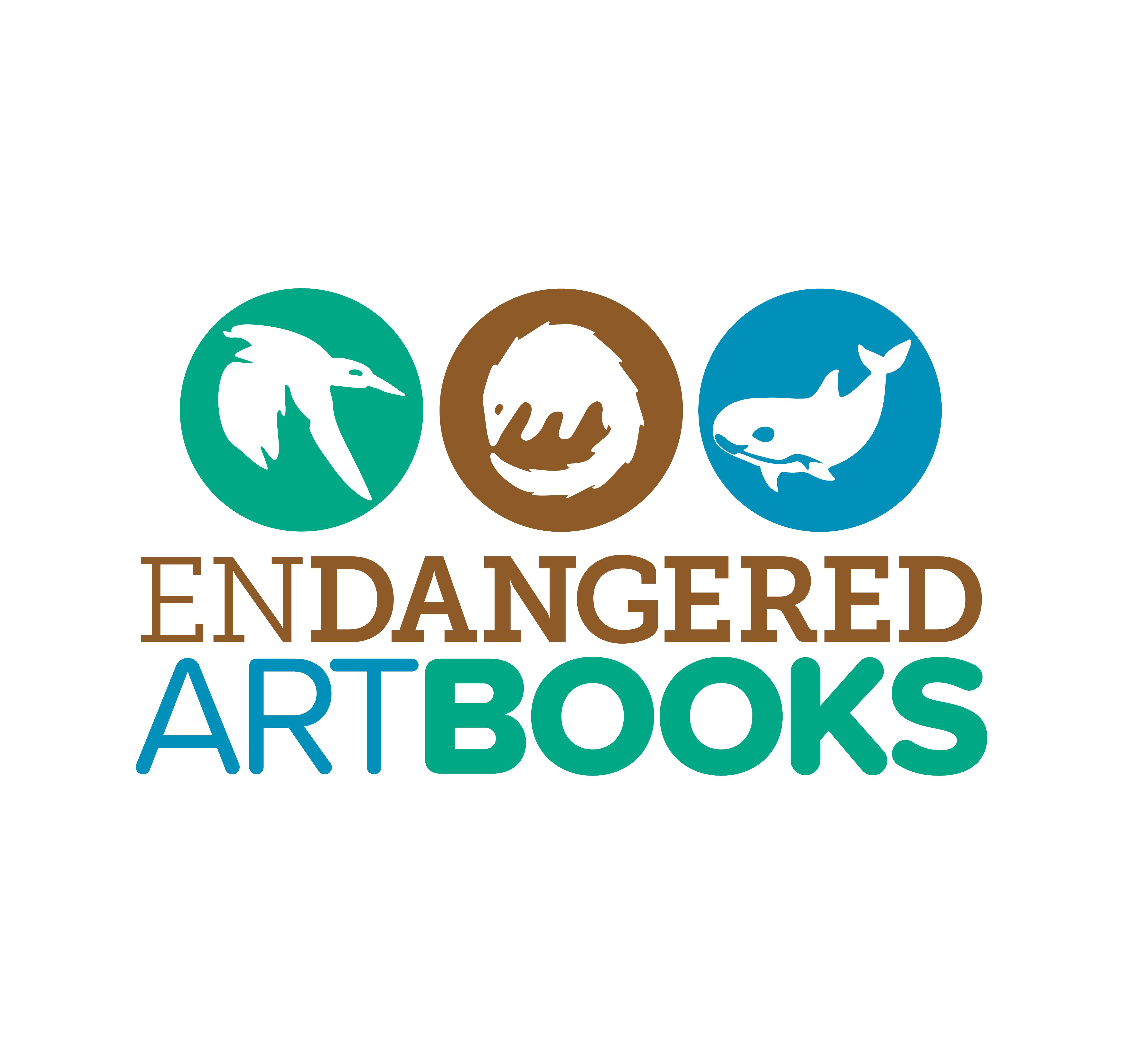 Endangered Art Books Logo