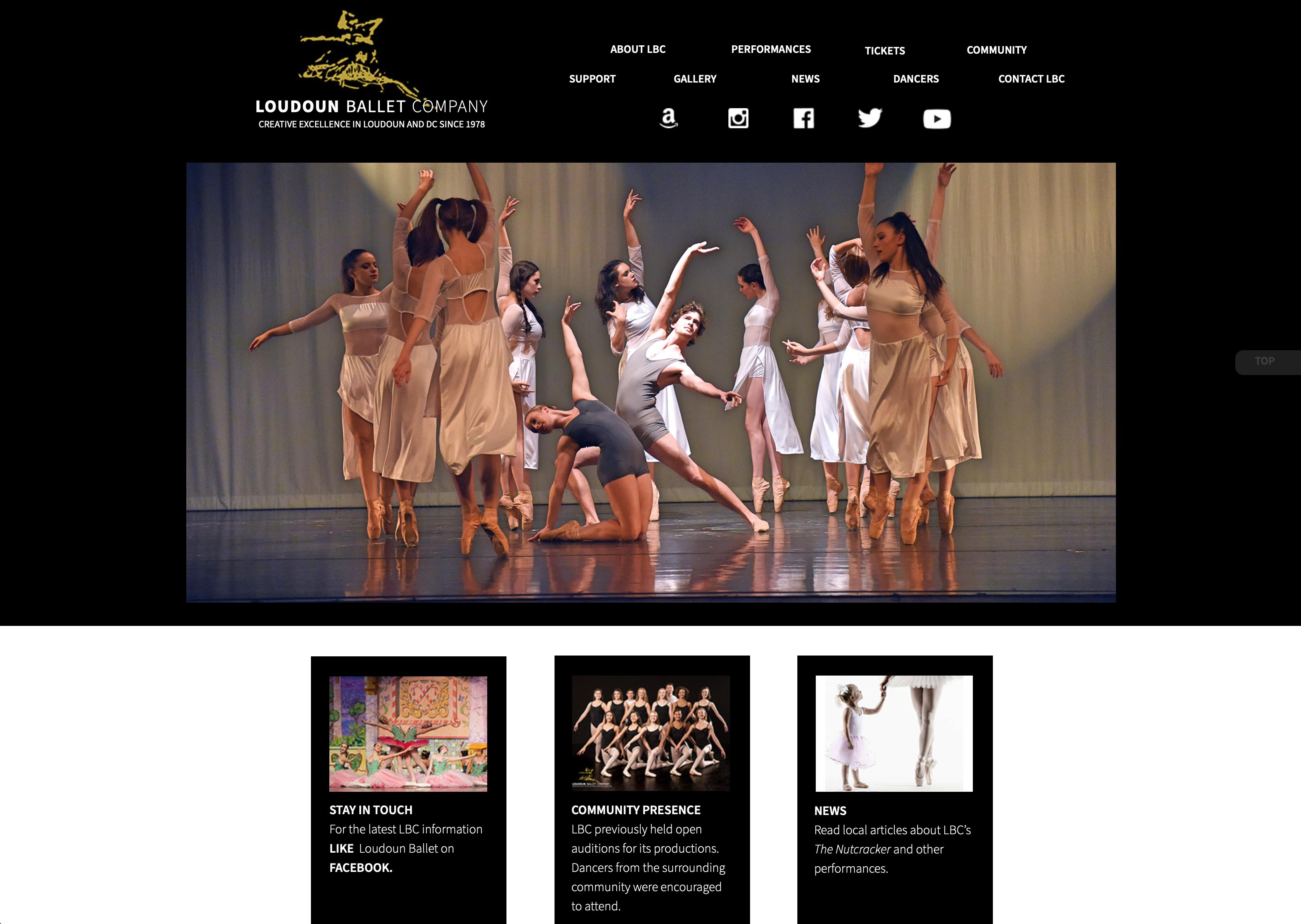 Loudoun Ballet Company Website