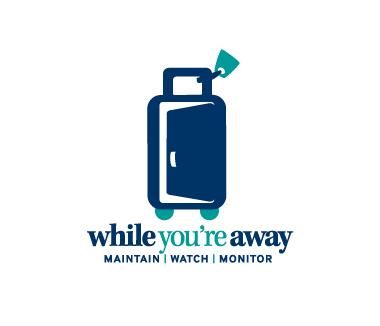 While You're Away Logo